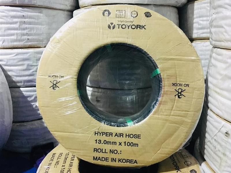 Ống hơi Toyork Hàn Quốc phi 13mm - Cuộn 100m