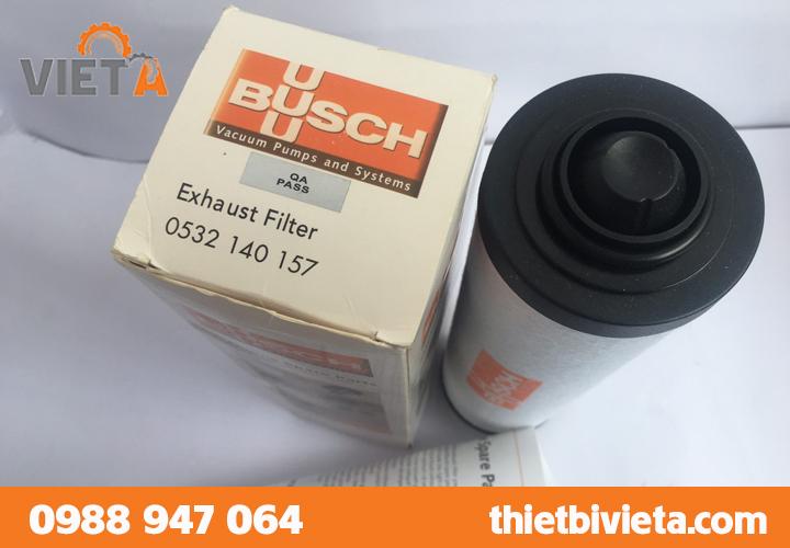 Lọc tách dầu bơm hút chân không Busch 0532140157