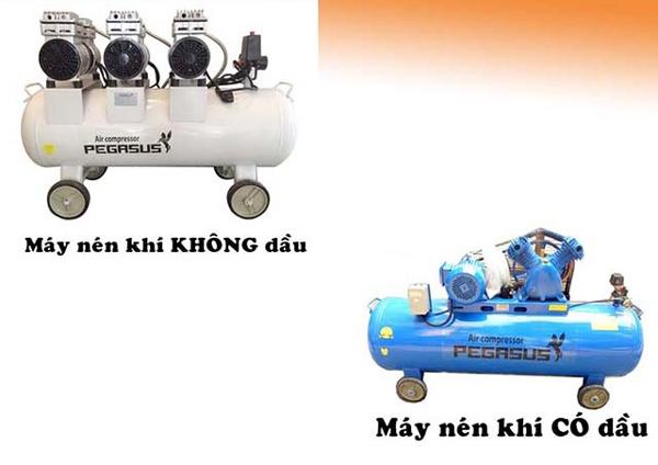 [So sánh] Nên mua máy nén khí không dầu hay có dầu?
